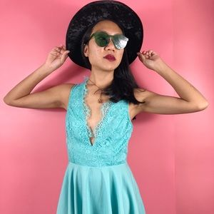 Keepsake Need your Love Lace Mint morning Dress M